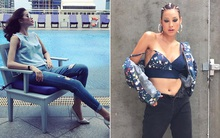 Phạm Hương mặc jeans vẫn sang như thường, Lilly Nguyễn lộ dáng thô vì đồ cá tính