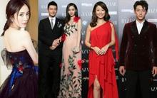 """Dàn sao hạng A Cbiz tề tựu khoe sắc trên thảm đỏ """"Đêm từ thiện Bazaar"""" lớn nhất trong năm"""