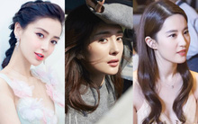 """Đây là danh sách những mỹ nhân Hoa ngữ """"đẹp 360 độ không góc chết"""""""