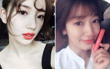 """Suzy, Park Shin Hye và loạt sao nữ xứ Hàn đang """"yêu"""" nhất những màu son nào?"""