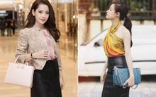 Phục sát đất tài biến khăn thành váy áo của sao Việt