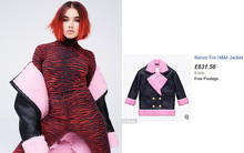 H&M x Kenzo: Đồ chưa lên kệ mà đã được rao inh ỏi trên mạng với giá gấp 7 lần!