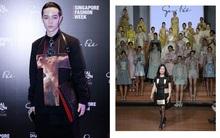 "Kelbin Lei tới Singapore Fashion Week, dự show diễn của NTK trứ danh tạo nên ""váy ốp-la"" cho Rihanna"