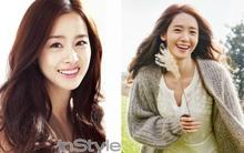 """Kim Tae Hee, Yoona (SNSD) giành số phiếu """"khủng"""" trong BXH nữ thần sắc đẹp Hàn các thế hệ"""
