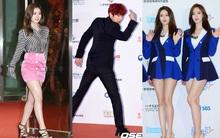 """Chanyeol (EXO) """"diễn sâu"""", dàn mỹ nhân Kpop khoe chân trắng ngần trên thảm đỏ Dream Concert 2016"""