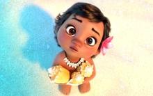 """Phát sốt trước độ siêu đáng yêu của """"Moana"""" bé xíu từ Disney"""
