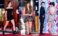 Thảm đỏ SBS Gayo Daejun: Taeyeon lộ quần trong, Yuri hở bạo bên dàn mỹ nhân Kpop