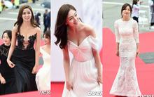 Thảm đỏ Oscar Hàn Quốc: Mỹ nhân đua nhau khoe vòng một, tân Hoa hậu - Á hậu bị chê kém sắc