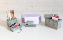 Tận dụng bộ lego cũ làm ra hàng tá phụ kiện làm đẹp bàn học