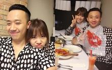 Mặc tin đồn đám cưới, Trấn Thành - Hari Won diện áo đôi, đăng ảnh thân mật bên nhau