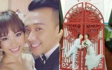 Hé lộ thiệp mời của Trấn Thành và Hari Won sau khi công khai ảnh cưới