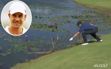 Golf thủ liều lĩnh lấy gậy chọc cá sấu ở Olympic Rio