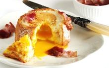 Biến ổ bánh mì cũ thành món bánh trứng lòng đào ngon khó cưỡng