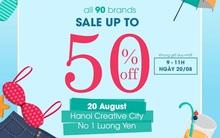 Đồng loạt hơn 90 shop sale đến 50% khung giờ vàng tại Hanoi Looktique Fair