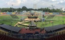 Hé lộ hình ảnh sân khấu liveshow hoành tráng tại sân vận động của Đông Nhi