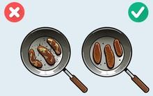 9 mẹo nấu ăn thông minh biến bạn thành đầu bếp thứ thiệt