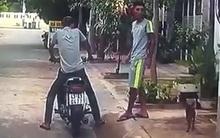 Clip: Camera trên ô tô ghi lại toàn bộ cảnh trộm chó táo tợn giữa ban ngày ở Đà Nẵng