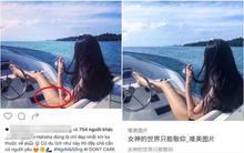 """Đỉnh cao sống ảo là đây: """"Mượn"""" hết ảnh Tàu sang ảnh Tây, lại còn cẩn thận photoshop hình xăm nữa..."""