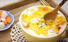 Đói bụng, vào bếp làm ngay cơm trộn phô mai cho nóng