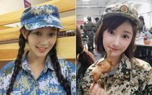 """Chùm ảnh: Những """"nữ thần"""" xinh đẹp bậc nhất trong mùa học quân sự ở Trung Quốc"""