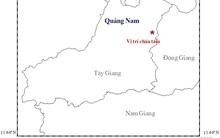 Xảy ra động đất 3,4 độ richter kèm nhiều tiếng nổ lớn ở Quảng Nam