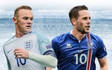 Anh vs Iceland: Rooney và đồng đội nắm 75% chiến thắng