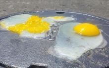 Mỹ: Nắng nóng 52 độ C, người dân lại kéo nhau đi rán trứng trên đường