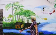 """Đây là cách vô cùng đáng yêu mà người Sài Gòn """"đối xử"""" với những bức tường cũ kỹ trong ngõ hẻm"""