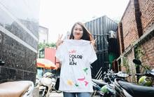 Giới trẻ Hà Nội cực phấn khích khi cầm trên tay bộ Kit - La Vie Color Me Run đầu tiên