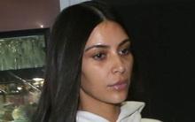 Kim Kardashian để mặt mộc nhợt nhạt, lộ vẻ hốc hác sau vụ cướp