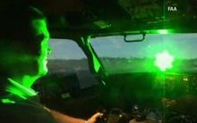 Phi công bất an vì tiếp tục bị chiếu tia laser vào buồng lái