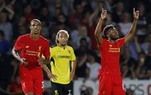 Sturridge ghi 2 bàn trong 5 phút, Liverpool thắng 5 sao