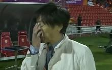 Ông Miura chết lặng khi U23 Việt Nam thua trận