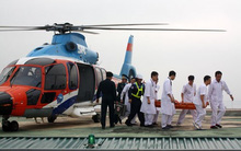 Bệnh viện lớn nhất miền Bắc có sân đỗ trực thăng