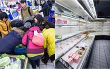 Người dân tranh nhau mua đồ ăn tích trữ để tránh đợt rét kỷ lục trong vòng 30 năm qua