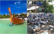"""Ngỡ là bỏ tiền đến chốn """"thiên đường"""" của Thái Lan, cặp du khách Anh ngã ngửa vì lạc vào xứ sở rác thải"""