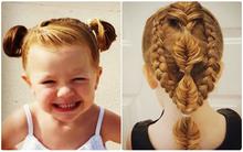 Không thể tin được một ông bố đơn thân có thể tạo được nhiều kiểu tóc đáng yêu thế này cho con gái