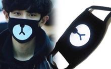 """Ai muốn diện khẩu trang """"đôi"""" hình gấu với idol Hàn thì giơ tay lên!"""