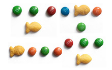 Muốn chứng tỏ mình không lú, bạn phải nhớ được vị trí các viên kẹo