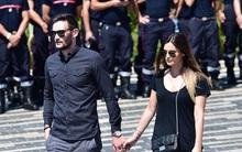 Vợ chồng thủ quân tuyển Pháp dự lễ tưởng niệm nạn nhân vụ khủng bố ở Nice