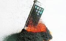 Đừng dại dột mà thử cho iPhone vào... núi lửa