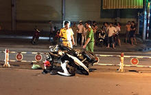 Nữ sinh văng xa 10 m sau cú tông dải phân cách ở Sài Gòn