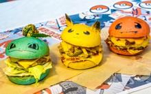 Không phải fan ruột, bạn cũng muốn thưởng thức đủ bộ hamburger Pokémon đã ngon lại còn đẹp
