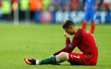 Rộ tin Ronaldo phải nghỉ thi đấu 5 tháng vì chấn thương trong trận chung kết Euro