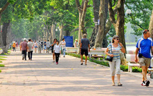 Hà Nội tổ chức không gian đi bộ quanh khu vực hồ Hoàn Kiếm từ 1/9