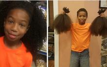Bé trai 10 tuổi 2 năm nuôi tóc dài và câu chuyện khiến ai cũng rơi nước mắt