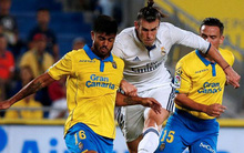 Bị Las Palmas cầm hòa, Real vẫn đòi lại ngôi đầu từ tay Barca