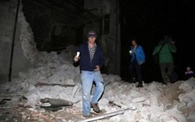 Động đất kép rung chuyển Italia