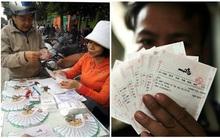 """Vé số kiểu Mỹ đi theo đường... """"xách tay"""" ra Hà Nội, giá đội lên 2-5 ngàn đồng/vé"""