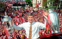 20 năm sự nghiệp của Arsene Wenger qua những bức ảnh